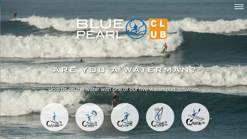 Blue Pearl Experience Website