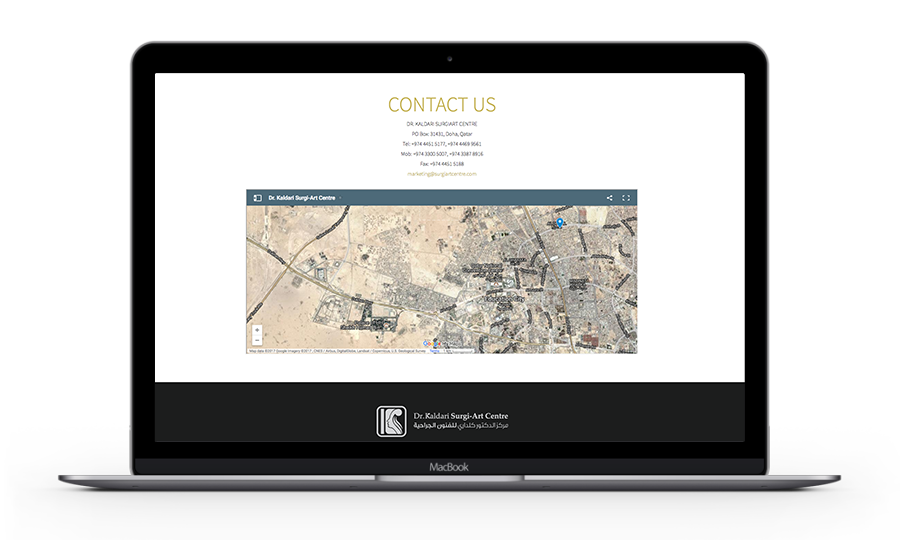 Dr. Kaldari Surgi-Art Centre Website